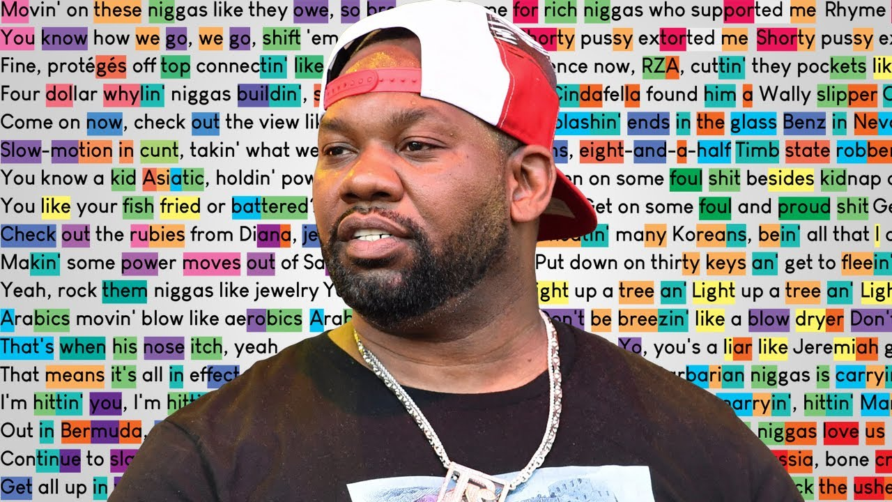 Raekwon on Faster Blade | Rhymes Highlighted