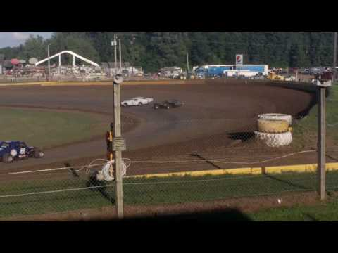 Cedar Lake Speedway, IMCA Old Timer Heat Race 2016