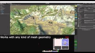 TerrainComposer 2 Ручне Розміщення Об'єкта