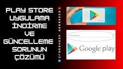 Play Store Uygulama İndirme ve Güncelleme Sorunu Çözümü 19.01.2020