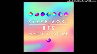Steve Aoki ft. BTS (방탄소년단) - Waste It On Me (Audio Official)