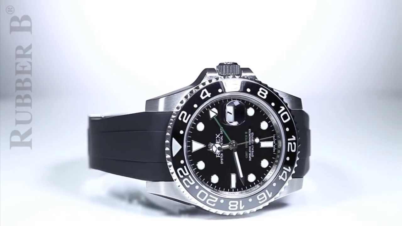 Rolex Band Gmt Ii Ceramic Bracelet Rubber B Is The