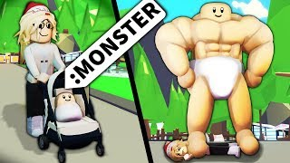 My Roblox ADMIN turned me INTO A MONSTER...