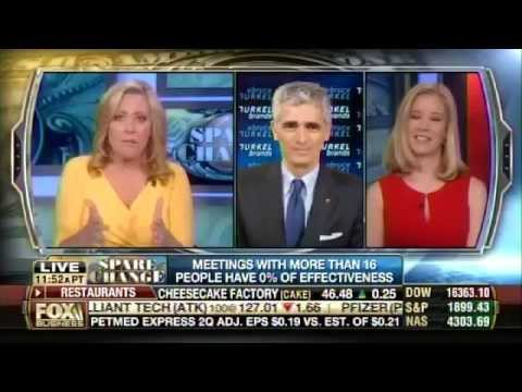 Bruce Turkel on Fox Business: What makes the most productive meeting.