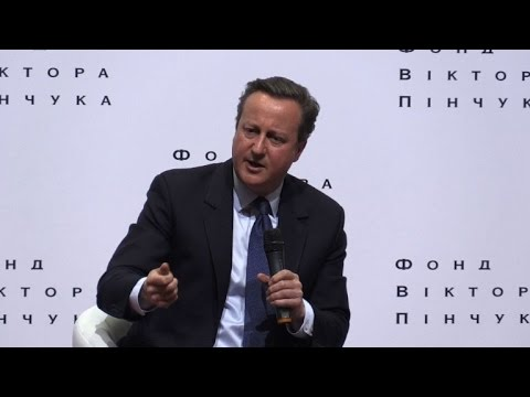 Cameron defends referendum call as Brexit launched