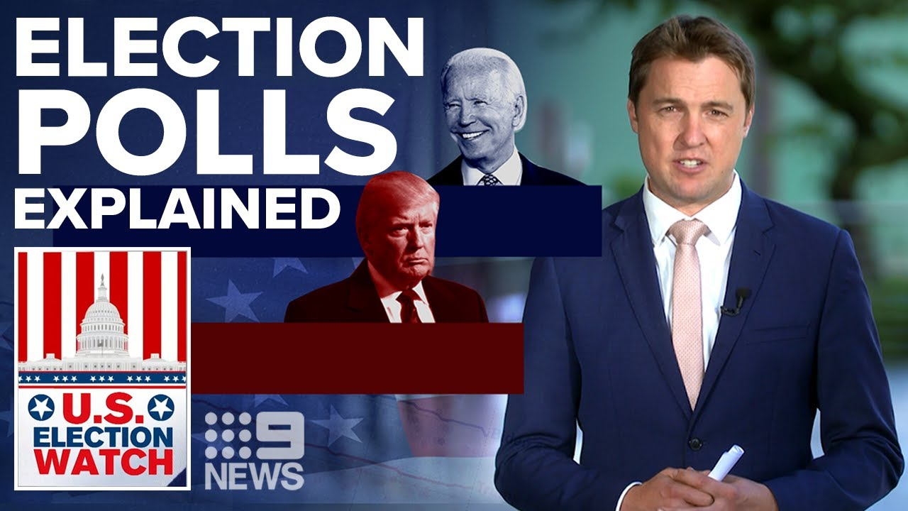 Trump trails Biden, but how accurate are the polls? | US Election Explained | 9News Australia