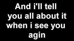 Its been a long day Wiz Khalifa Lyrics