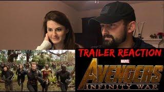 Avengers: Infinity War Official Trailer Reaction!