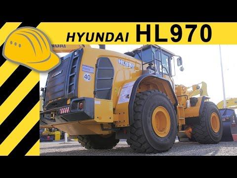 Video Kolový nakladač HL970
