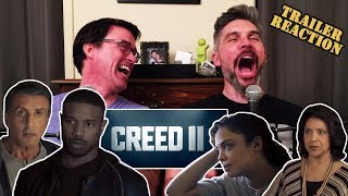Creed II Official Trailer REACTION!!!