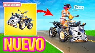 NEW VEHICLE *QUADTACLISMO* in FORTNITE! HALLOWEEN EVENT NEW SKINS!