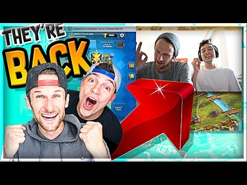 MOLT & NICK are BACK!! Clash Royale TRIPLE ELIXIR!