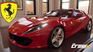 The Crew 2 - Ferrari 812 Superfast - Customization, Top Speed, Review