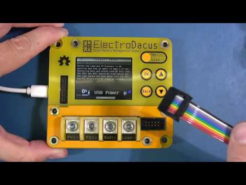 SBMS 100 by ElectroDacus  - Solar Battery Management System