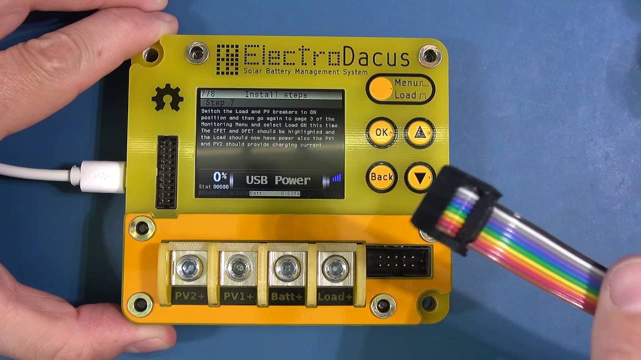 Sbms 100 By Electrodacus Solar Battery Management System