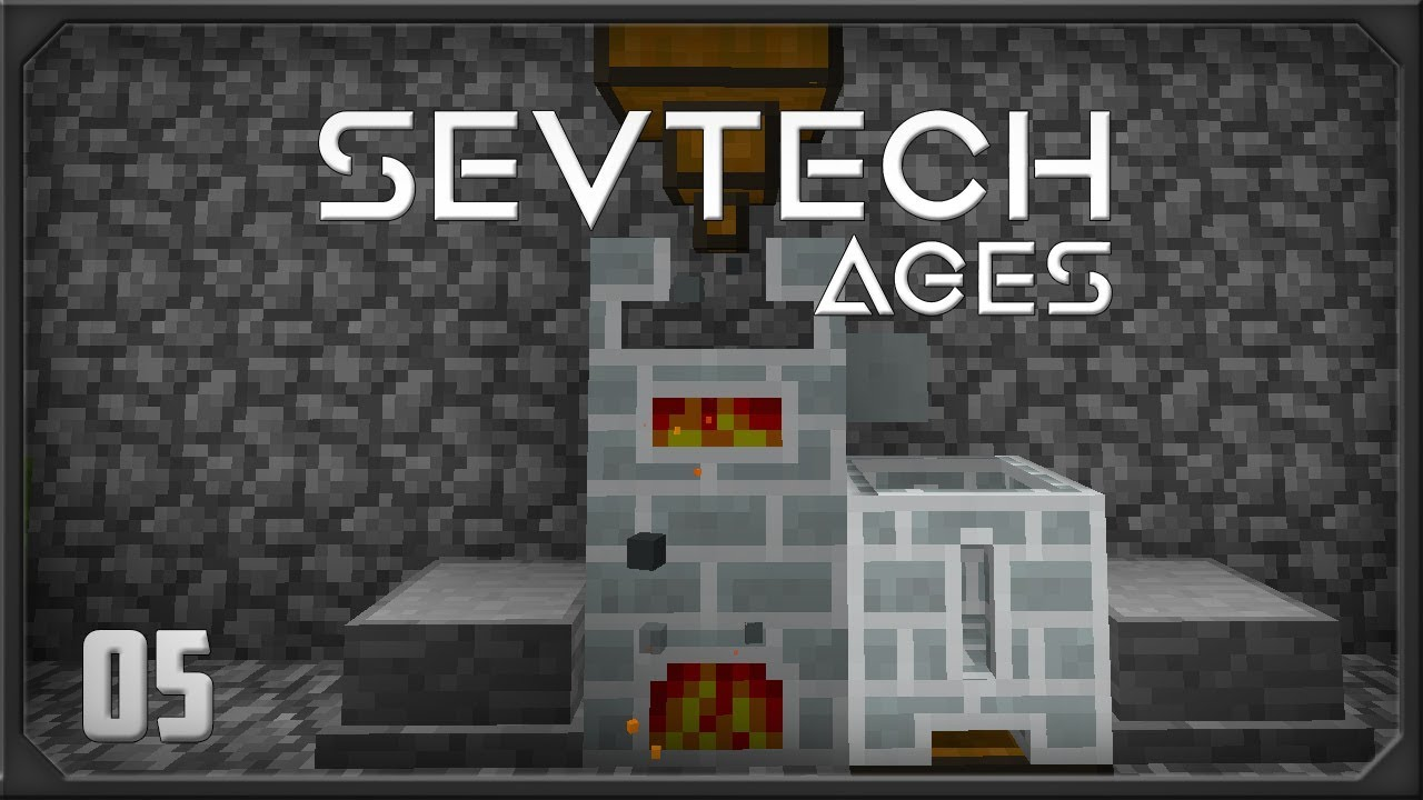 Sevtech Ages EP5 Finishing Age 0 + Ore Prospecting
