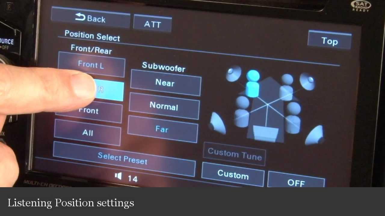 Sony Xav 62bt Wiring Diagram Data Crutchfield Wire Dvd Receiver Display And Controls Demo Stereo
