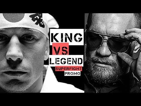 CONOR MCGREGOR VS GEORGES ST. PIERRE (HD) KING VS. LEGEND PROMO, MMA, UFC, DANA WHITE, MONEYFIGHT