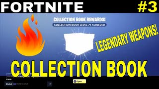 Fortnite - LEGENDARY WEAPONS AND MORE GOING IN TO THE COLLECTION BOOK! #3 | Fortnite Save The World