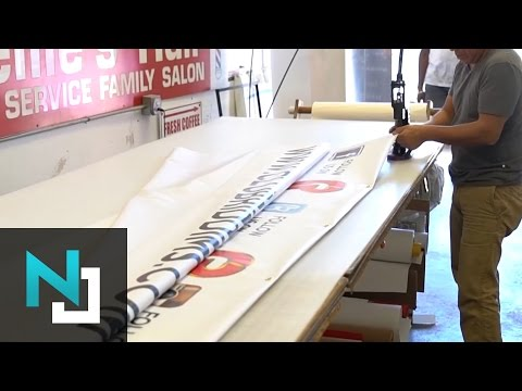 Banners, Signs, Display Graphics -  Product Video | Neil Jou Productions