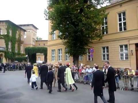 Georg Friedrich von Preussen Prince of Prussia Wedding, Guests Friedenskirche Sanssouci