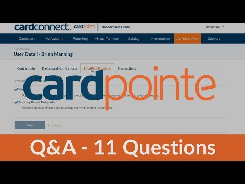 CardPointe Q&A - Common Questions Answered About The CardPointe Platform With CardConnect