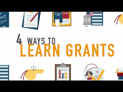 4 Ways to Learn Federal Grants with Grants.gov