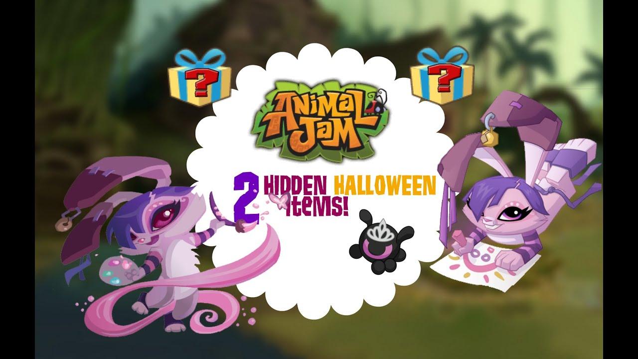 2 hidden halloween items on animal jam youtube - Halloween Items