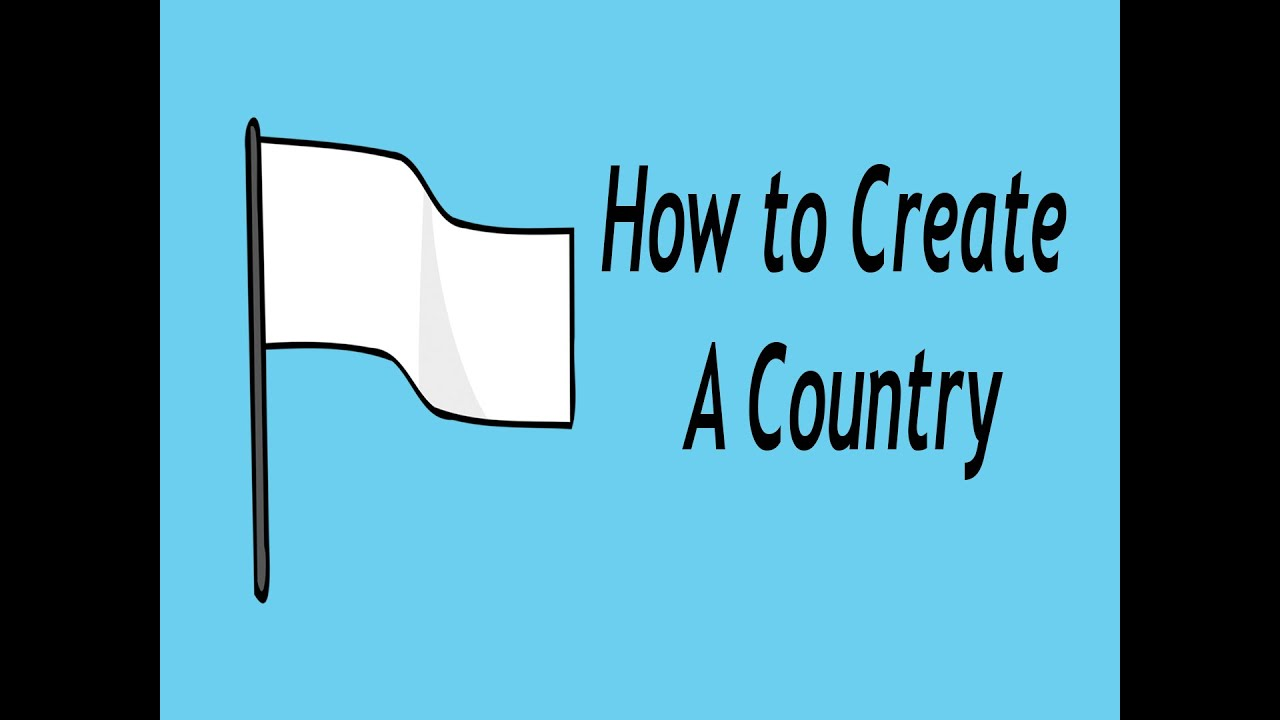 how to create a country youtube