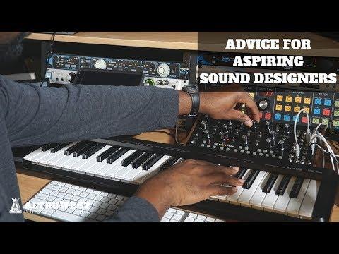 Advice for Aspiring Sound Designers