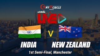 Cricbuzz LIVE: Semi-final 1, India v New Zealand, Pre-match show