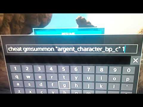 Ark how to spawn an Argentavis ps4 /Xbox 1 check description.