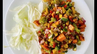 Super Healthy & Tasty Salad for Weight Loss (Tossed in Extra Virgin Olive Oil & Vinegar) Rishi Modi