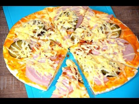 Как приготовить пиццу из готовой основы для пиццы в духовке