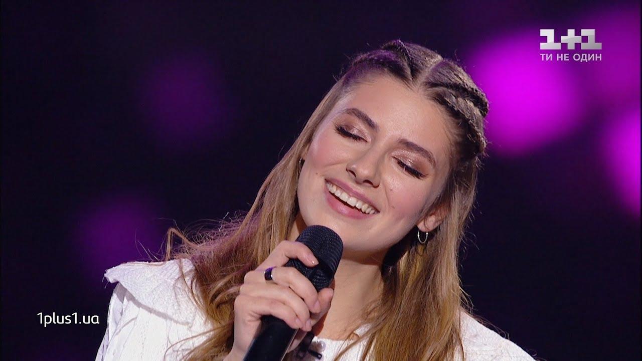 Daria Petrozhitskaya  Holubka  Blind Audition  The Voice Ukraine Season 10