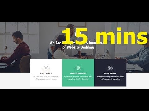 How To Make A WebStudio Website In Less Than 15 Mins