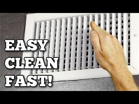 Air Return Vent Cleaning - Take A Tip Tuesday