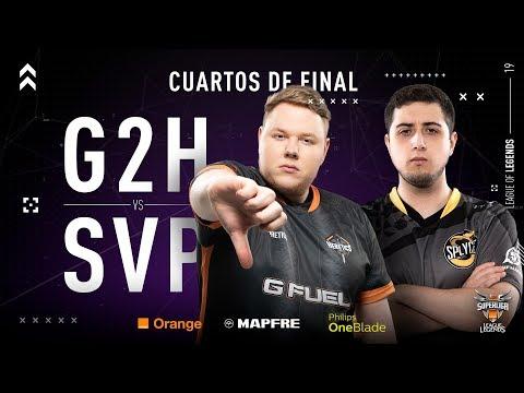 G2 HERETICS VS SPLYCE VIPERS | Superliga Orange League of Legends | Cuartos de final | Mapa 4 | thumbnail