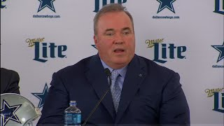 Mike McCarthy introduced as Dallas Cowboys Head Coach