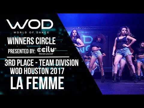 La Femme  | 3rd Place Team Division I Winners Circle | WOD Houston 2017 | #WODHTOWN17
