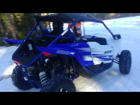 First Yamaha YXZ1000R in Saguenay Lac St-Jean 3/5 (Start from Herman house) ;-)