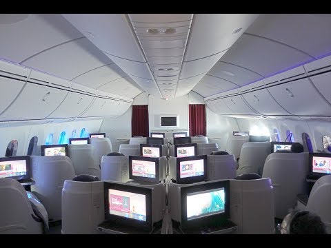Qatar Airways B787-8 Dreamliner Business Class Flight Experience From Lahore - Doha | Flight Review