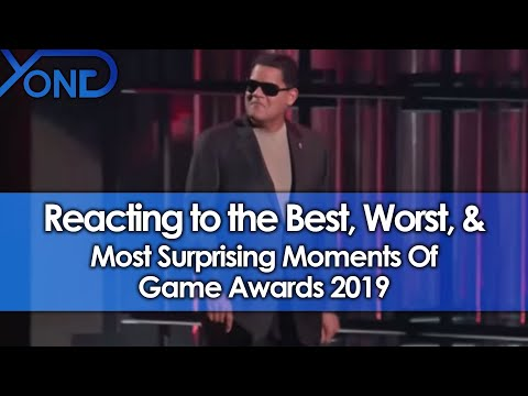 Reacting To The Best, Worst, & Most Surprising Moments Of Game Awards 2019