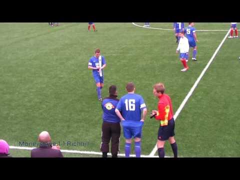 Moneyslane FC vs Richhill FC Alan Wilson Cup Final 2016