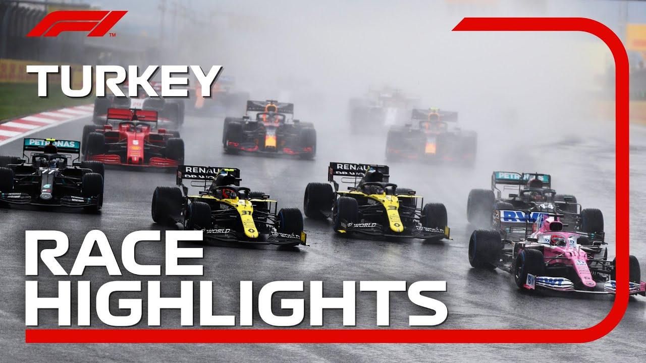 Valtteri Bottas wins F1 Turkish GP as Verstappen takes ...