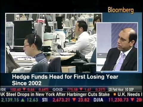 Hedge Funds Crisis - Commerzbank's Hedge Fund Chief Mehraj Mattoo comments on Bloomberg TV