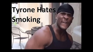 I'M TYRONE OUT HERE SAVING LIVES FROM CANCER! (NO SMOKING) #Imtyrone
