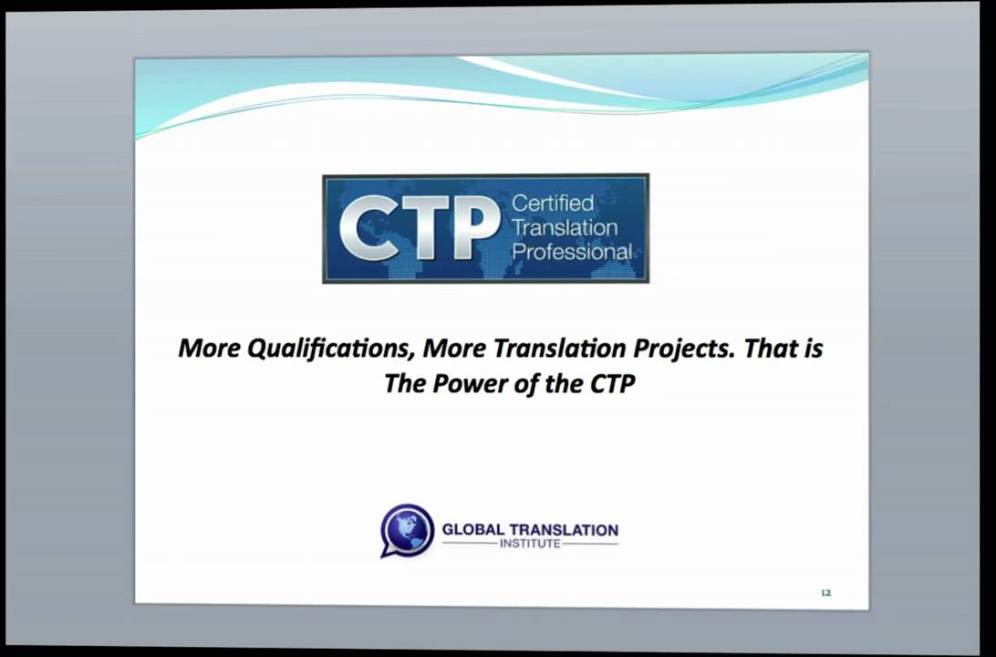 Translator Certification Youtube