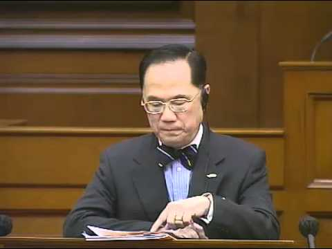 Leung Kwok-hung (梁國雄) vs. Donald Tsang (曾蔭權) about LIU Xiaobo (English Ver.)