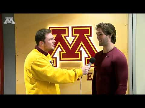 Gopher - Gopher Hockey's Scott Reedy Previews Notre Dame Series | KFAN 100.3 FM